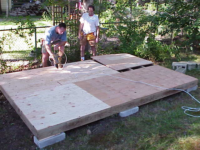 how to build your own shed plans